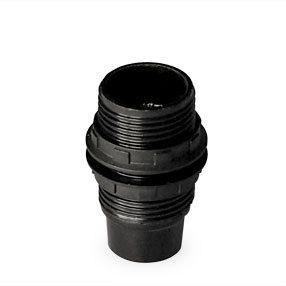 lampholder E14 black