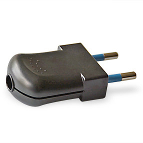 big plug 2pin euro black 150x150