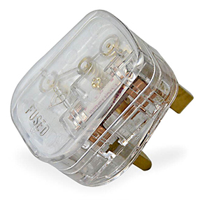 big plug 3pin uk clear lighter 150x150