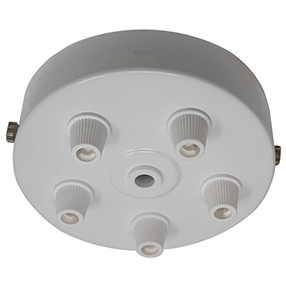 big white five cord grip large ceiling plate 150x150
