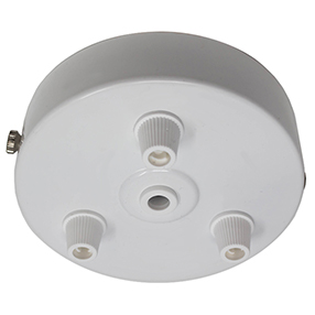 ceiling_rose_3 outlet_white