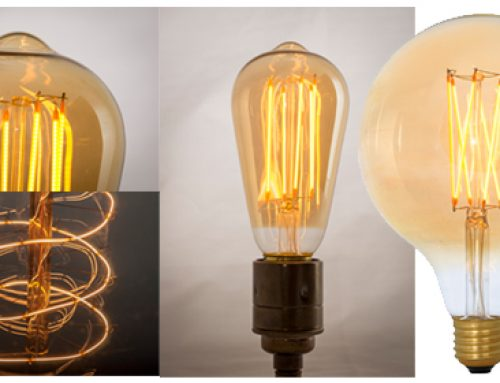 GO GREEN with beautiful dimmable filament LED Light Bulbs