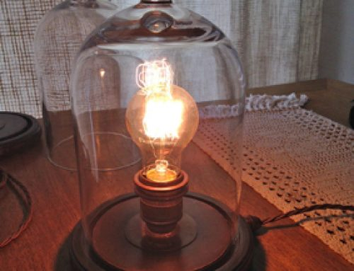 Dan's Cloche lamp
