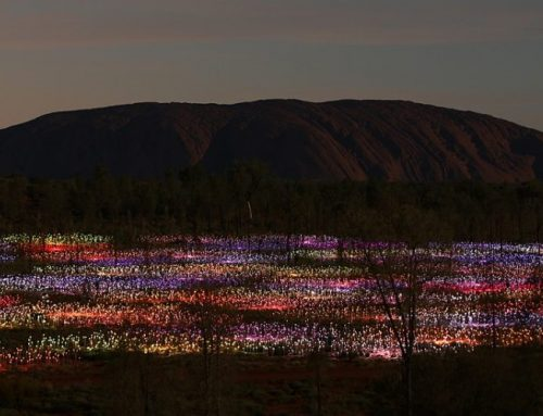Light and the Sacred landscape of Uluru