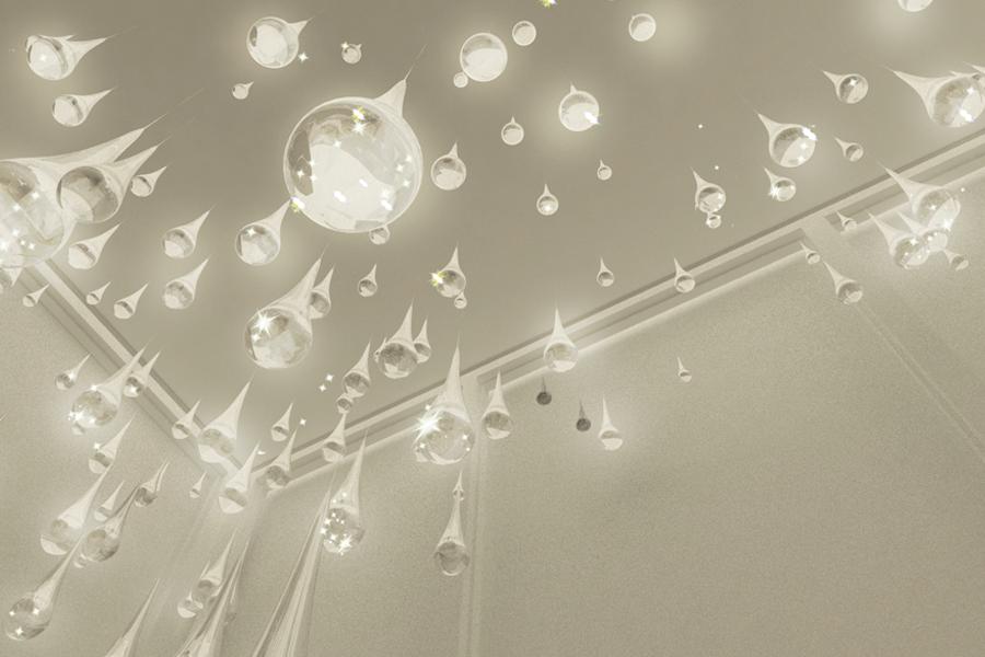 dh liberty raindrop chandelier