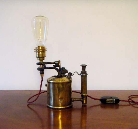 Tanya Tier blowtorch lamp 3