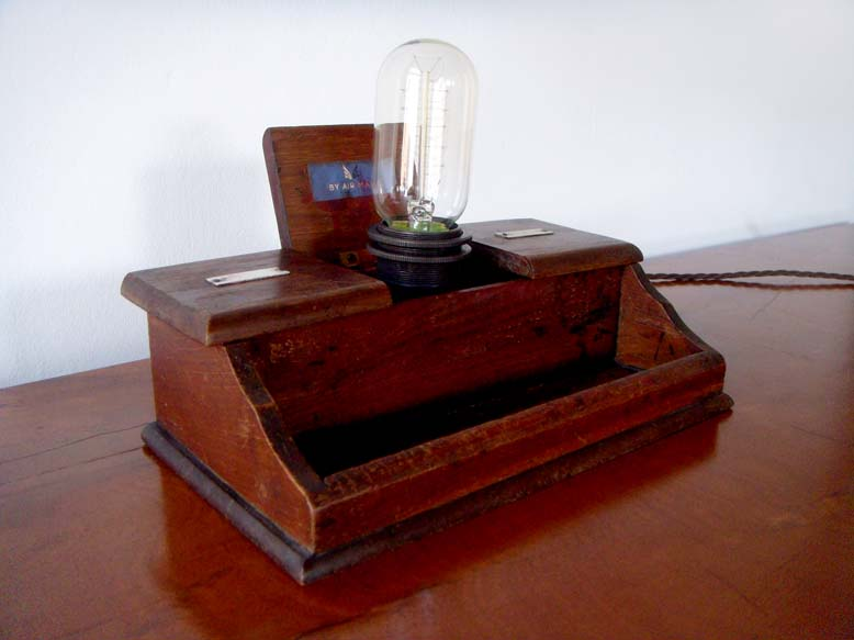 Tanya Tier inkwell lamp