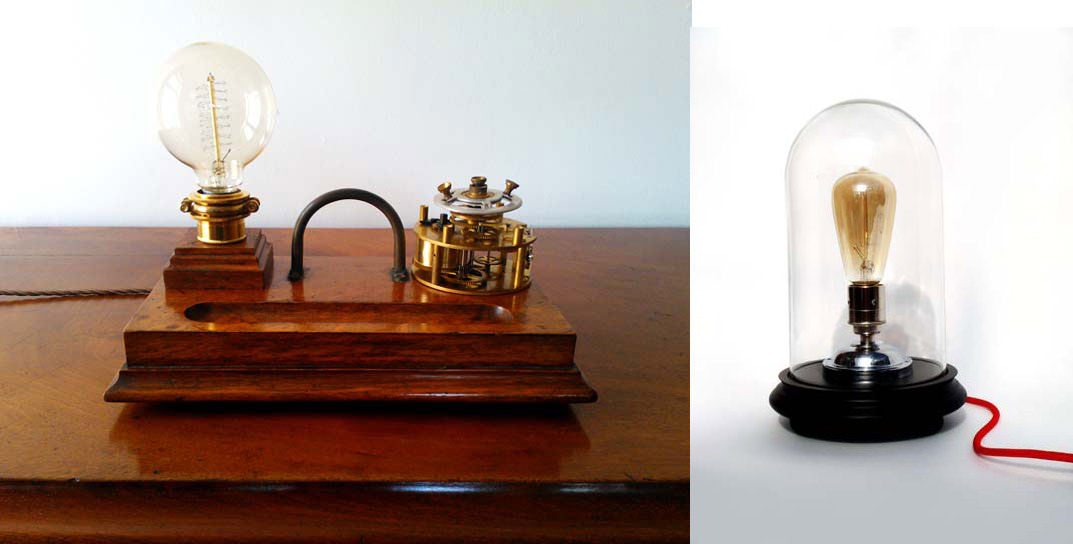 Tanya Tier inkwell lampduo