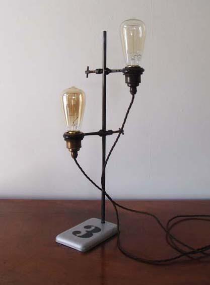 Tanya retort stand lamp