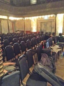 rehearsal chairs