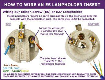 Lampholder Wiring diagram